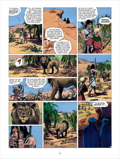 Page 5 thorgal tome 26 - le royaume sous le sable