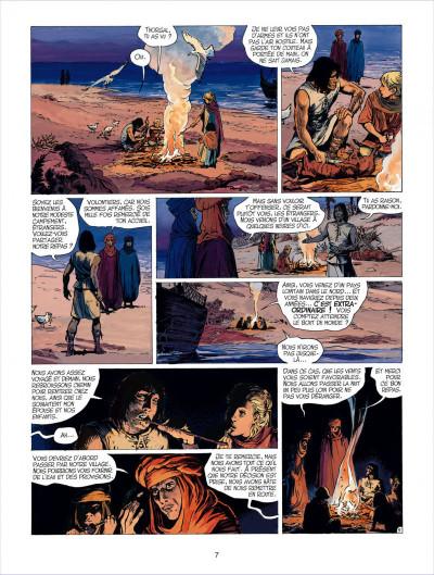 Page 7 thorgal tome 26 - le royaume sous le sable