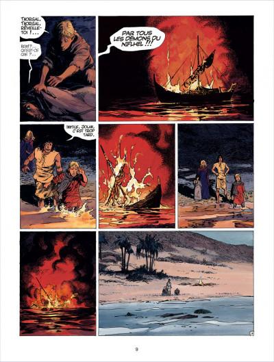 Page 9 thorgal tome 26 - le royaume sous le sable