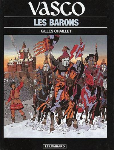 Couverture vasco ; les barons