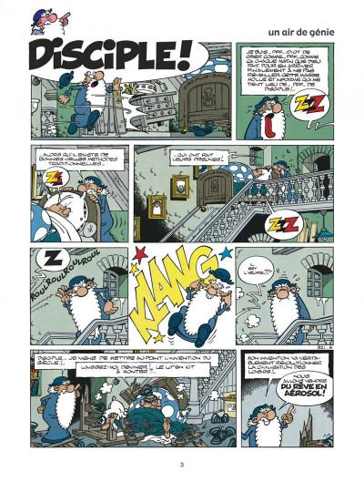 Page 3 léonard tome 21 - un air de génie