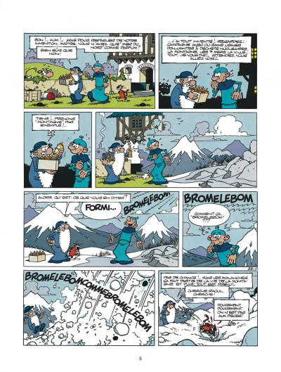 Page 5 léonard tome 21 - un air de génie