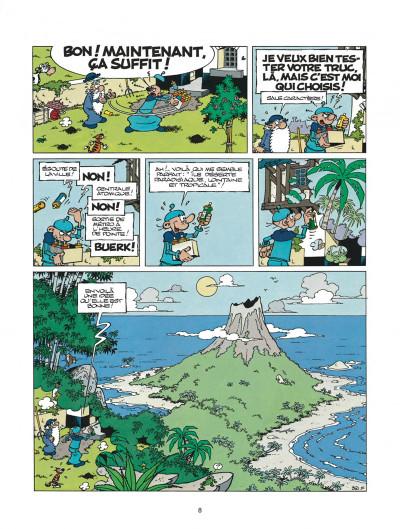 Page 8 léonard tome 21 - un air de génie