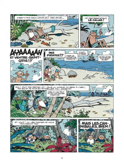 Page 9 léonard tome 21 - un air de génie