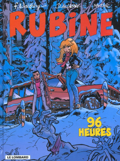 Couverture rubine tome 8 - 96 heures