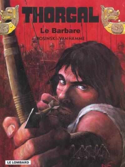 image de thorgal tome 27 - le barbare