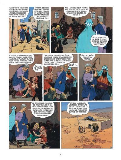 Page 5 thorgal tome 27 - le barbare