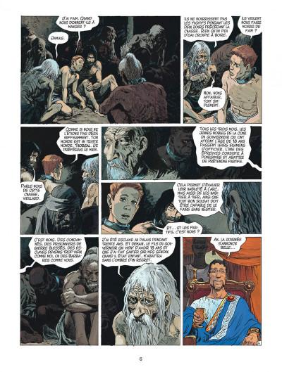 Page 6 thorgal tome 27 - le barbare