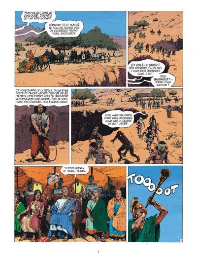 Page 7 thorgal tome 27 - le barbare
