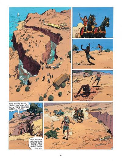 Page 8 thorgal tome 27 - le barbare