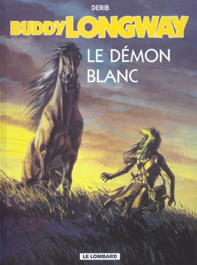 Couverture buddy longway tome 10 - le démon blanc