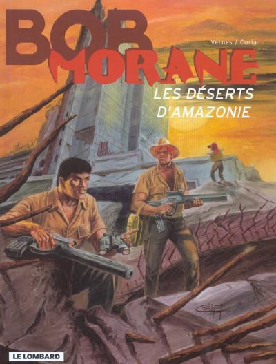 Couverture Bob Morane 3 tome 38 - les déserts d'amazonie