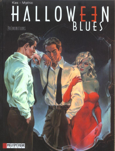 Couverture halloween blues tome 1 - prémonitions