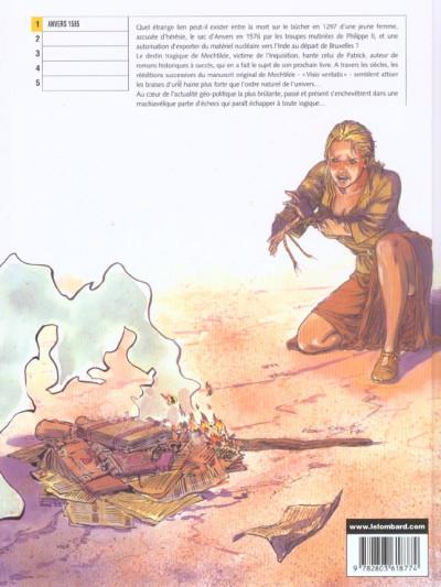 Dos l'ordre impair tome 1 - anvers 1585