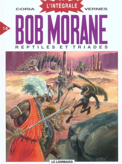 Couverture bob morane - intégrale tome 14 - reptiles et triades