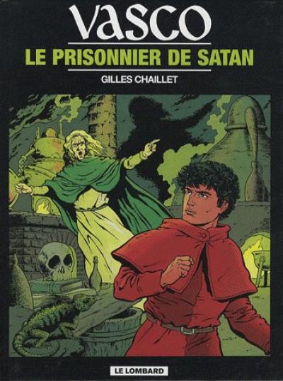 Couverture vasco tome 2 - le prisonnier de satan