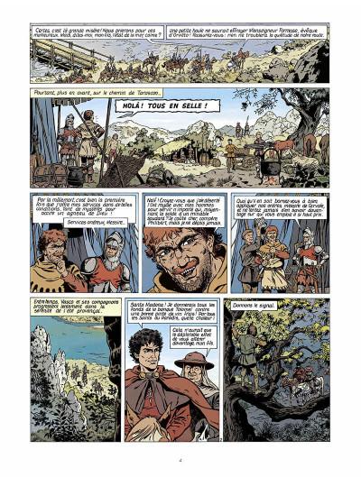 Page 5 vasco tome 2 - le prisonnier de satan