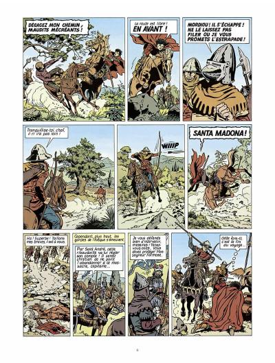 Page 7 vasco tome 2 - le prisonnier de satan