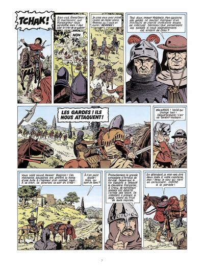 Page 8 vasco tome 2 - le prisonnier de satan