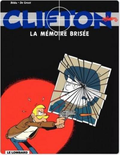 Couverture clifton; la mémoire brisée