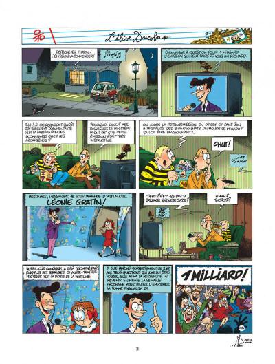 Page 3 l'élève ducobu tome 10 - miss dix sur dix