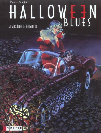 Couverture halloween blues tome 2 - je vous écris de gettysburg