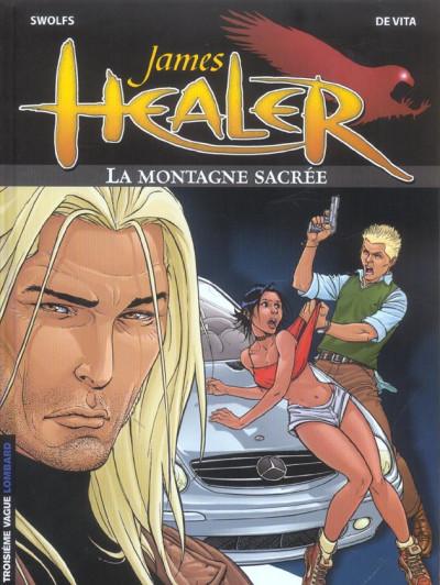 Couverture james healer tome 3 - la montagne sacree