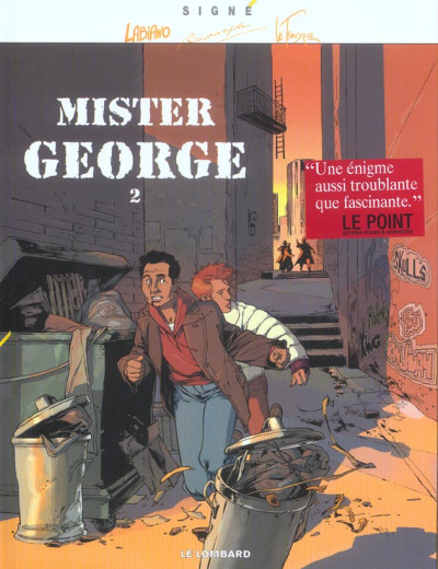 Couverture Mister Georges tome 2