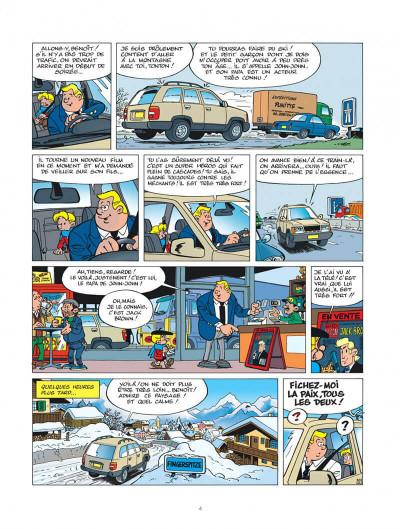 Page 4 benoît brisefer tome 13 - john-john