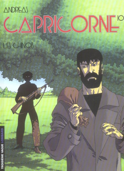 Couverture capricorne tome 10 - les chinois