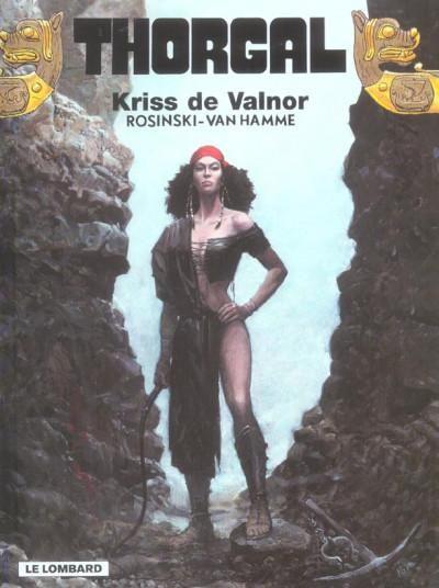 Couverture thorgal tome 28 - kriss de valnor
