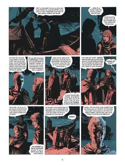 Page 5 thorgal tome 28 - kriss de valnor