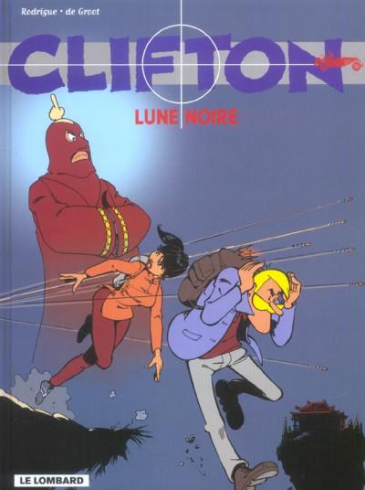 Couverture clifton tome 19 - lune noire