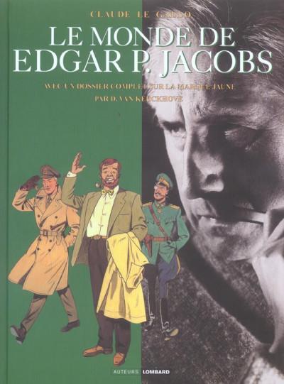 Couverture le monde de edgar p. jacobs