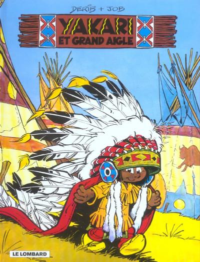 Couverture yakari tome 1 - yakari et grand aigle