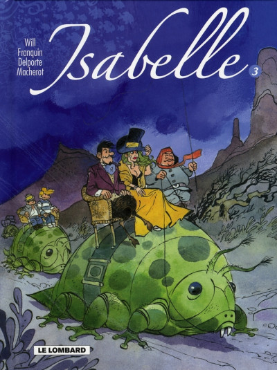 Couverture isabelle - intégrale tome 3 - tome 9 à tome 12