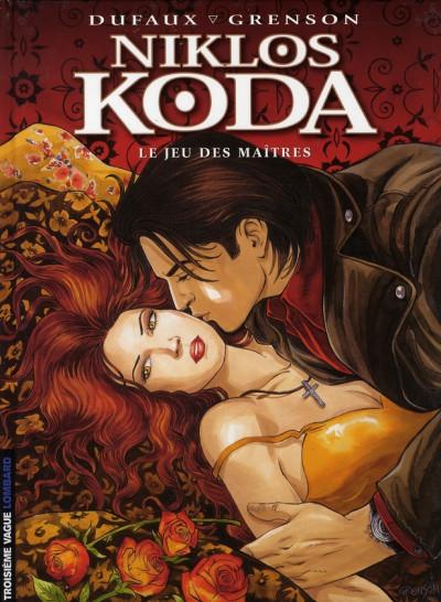 Couverture Niklos Koda tome 8