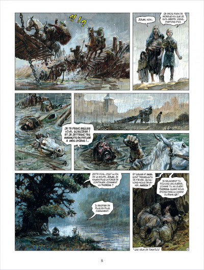 Page 5 thorgal tome 29 - le sacrifice