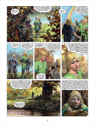 Page 9 thorgal tome 29 - le sacrifice