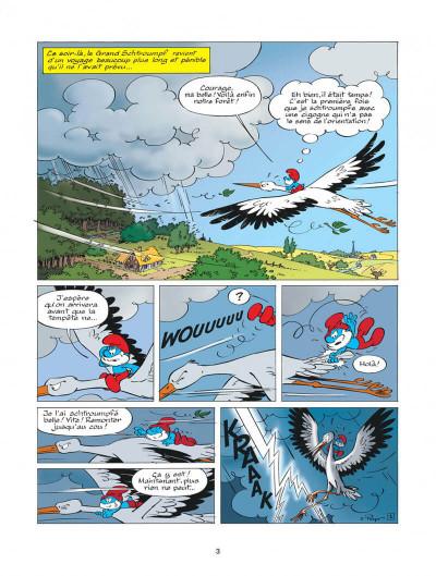 Page 3 les schtroumpfs tome 25 - un enfant chez les schtroumpfs