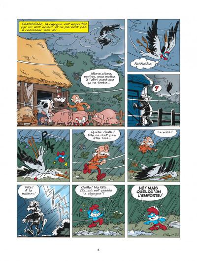 Page 4 les schtroumpfs tome 25 - un enfant chez les schtroumpfs