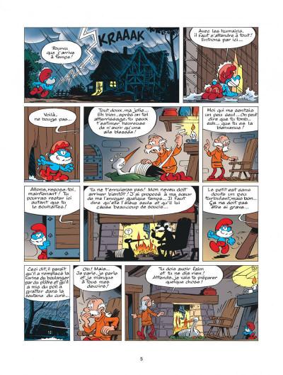 Page 5 les schtroumpfs tome 25 - un enfant chez les schtroumpfs