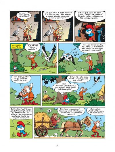 Page 7 les schtroumpfs tome 25 - un enfant chez les schtroumpfs