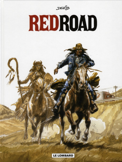 Couverture red road ; intégrale