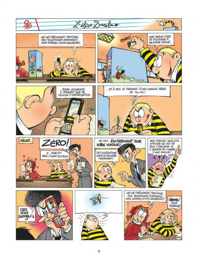 Page 9 l'élève ducobu tome 13 - pas vu, pas pris !