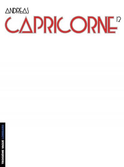 Couverture capricorne tome 12