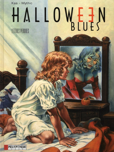 Couverture halloween blues tome 5 - lettres perdues