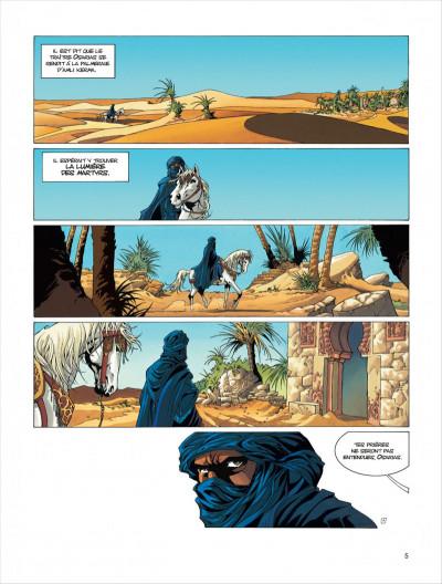 Page 5 croisade tome 1 - simoun dja