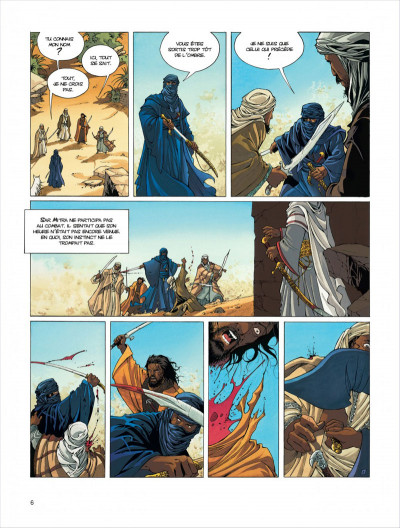 Page 6 croisade tome 1 - simoun dja