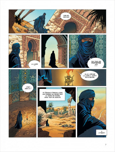 Page 7 croisade tome 1 - simoun dja